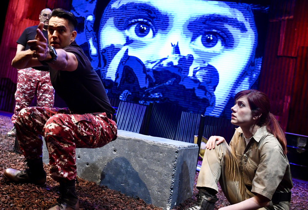 The Memory Stick by Irish playwright Donal O'Kelly- an international collaboration with Dublin, Ireland's City Arts Office, & the Irish Theatre Institute
