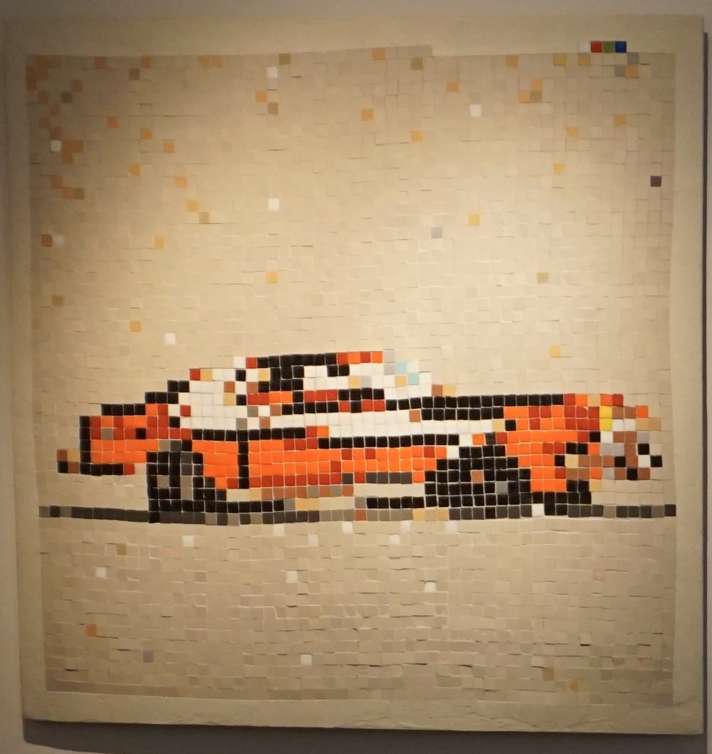 Space Invader - Masterpieces — Where Theres Walls...