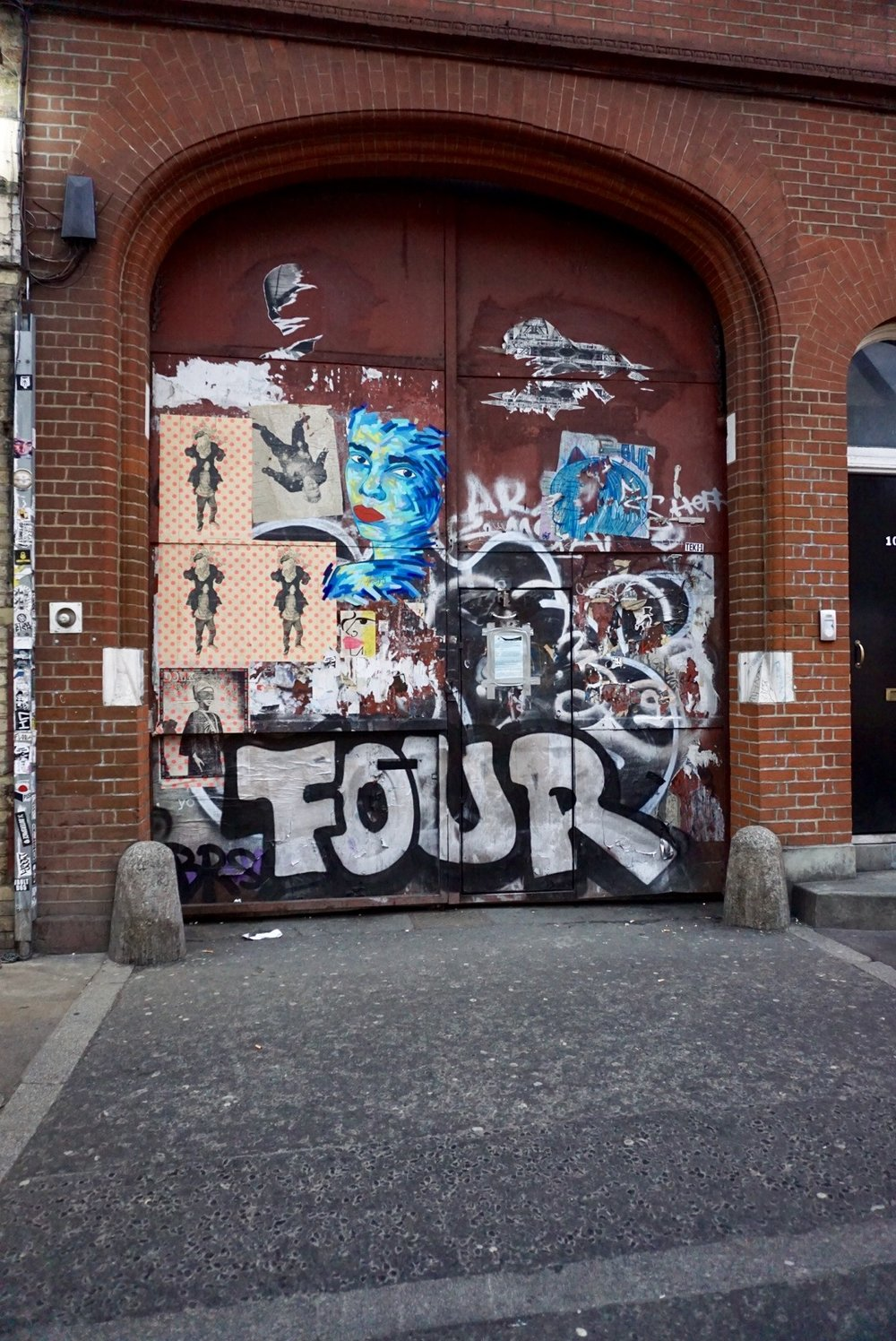Paste-Ups, Tags & Throws