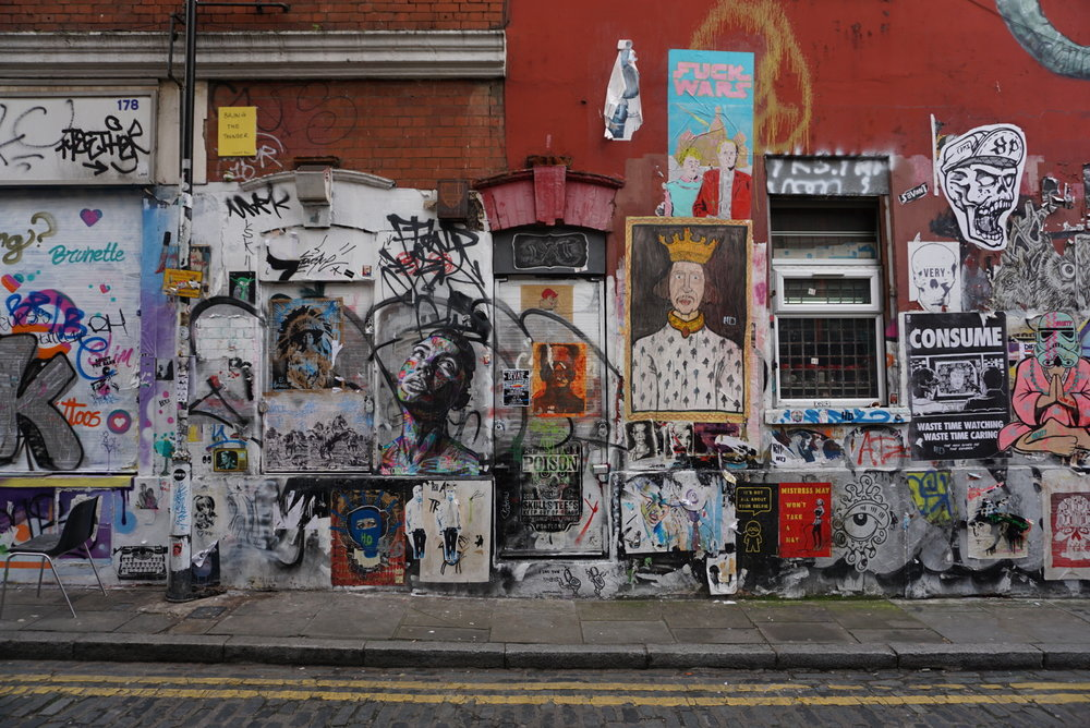 Another popular wall for Paste-Ups & Slaps