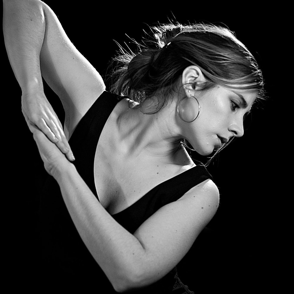 Defne Enc is a guest dance teacher at the Austin Flamenco Academy