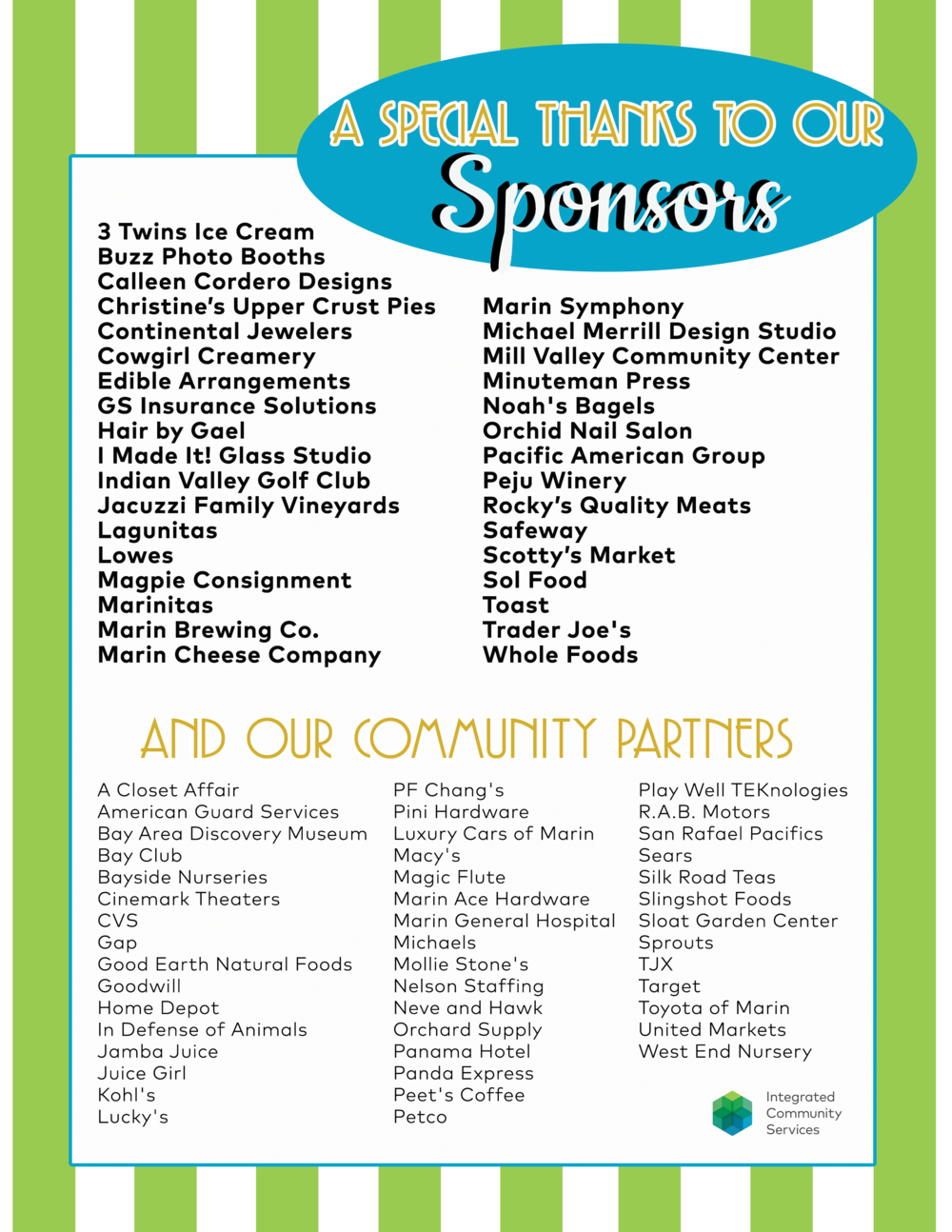 The ICS Summer Block Party! — Integrated Community Services