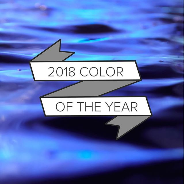 Pantone has announced Ultra Violet as the 2018 Color of the Year! #coloroftheyear #ultraviolet #pantone