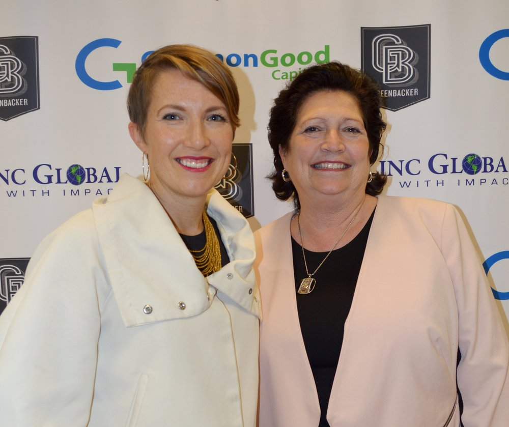 Sonya & Gloria at an RIA Impact Roundtable Event September 2017
