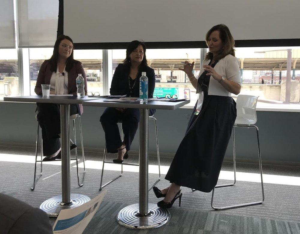 Kelly Coyne, Christina Alfandary, Pamela Jacobs - Total Impact Philadelphia 2018