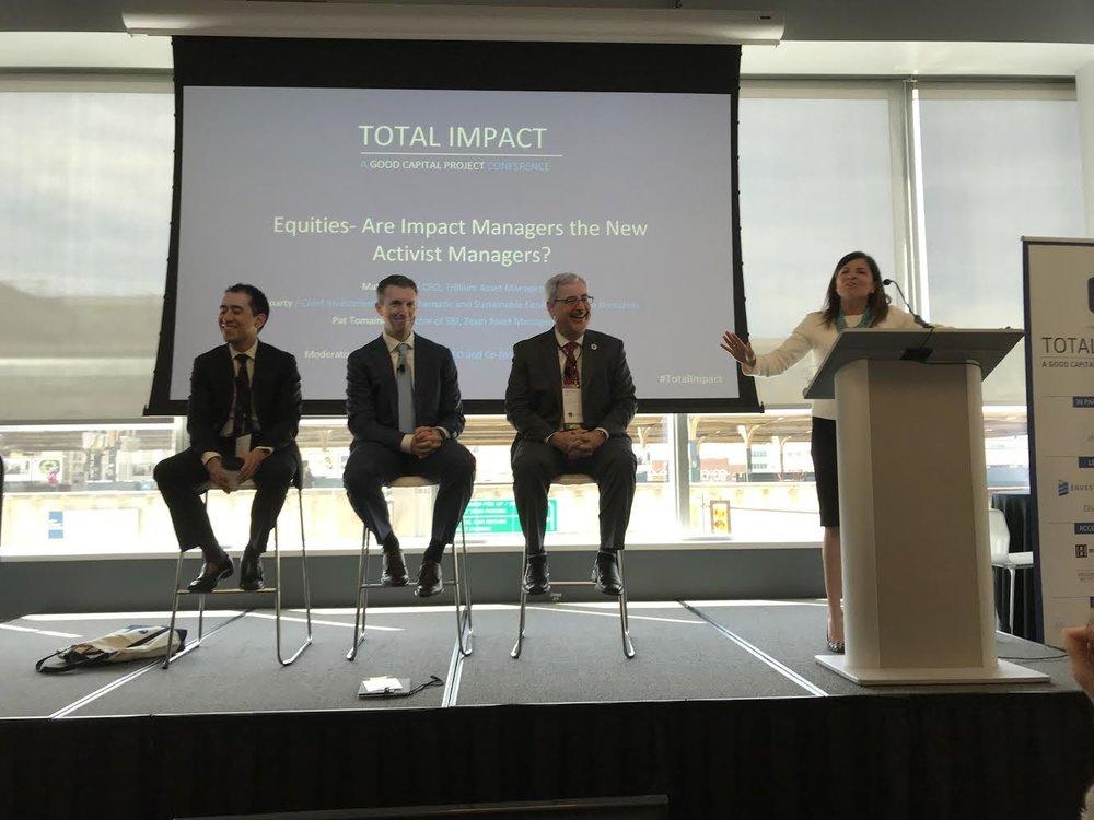 Pat Tomaino, Dan Roarty, Matthew Patsky, Allyson McDonald - Total Impact Philadelphia 2018