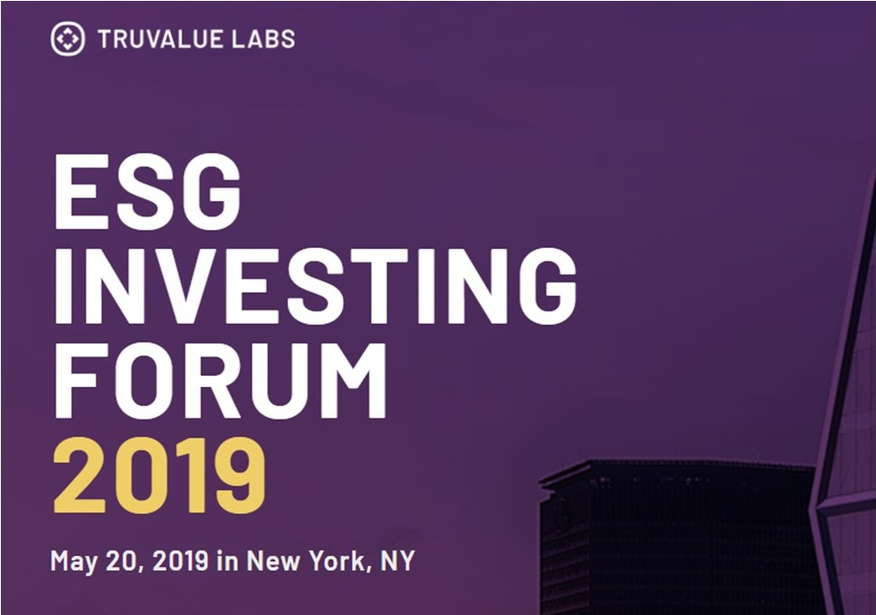 ESG Investing forum — Solutions With Sonya