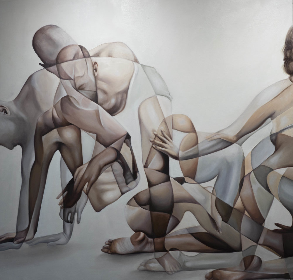 Connection, Oil on Canvas, 2019