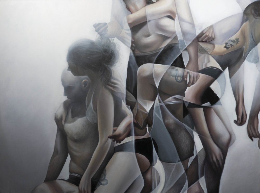 Prisms, Oil on Canvas, 2019