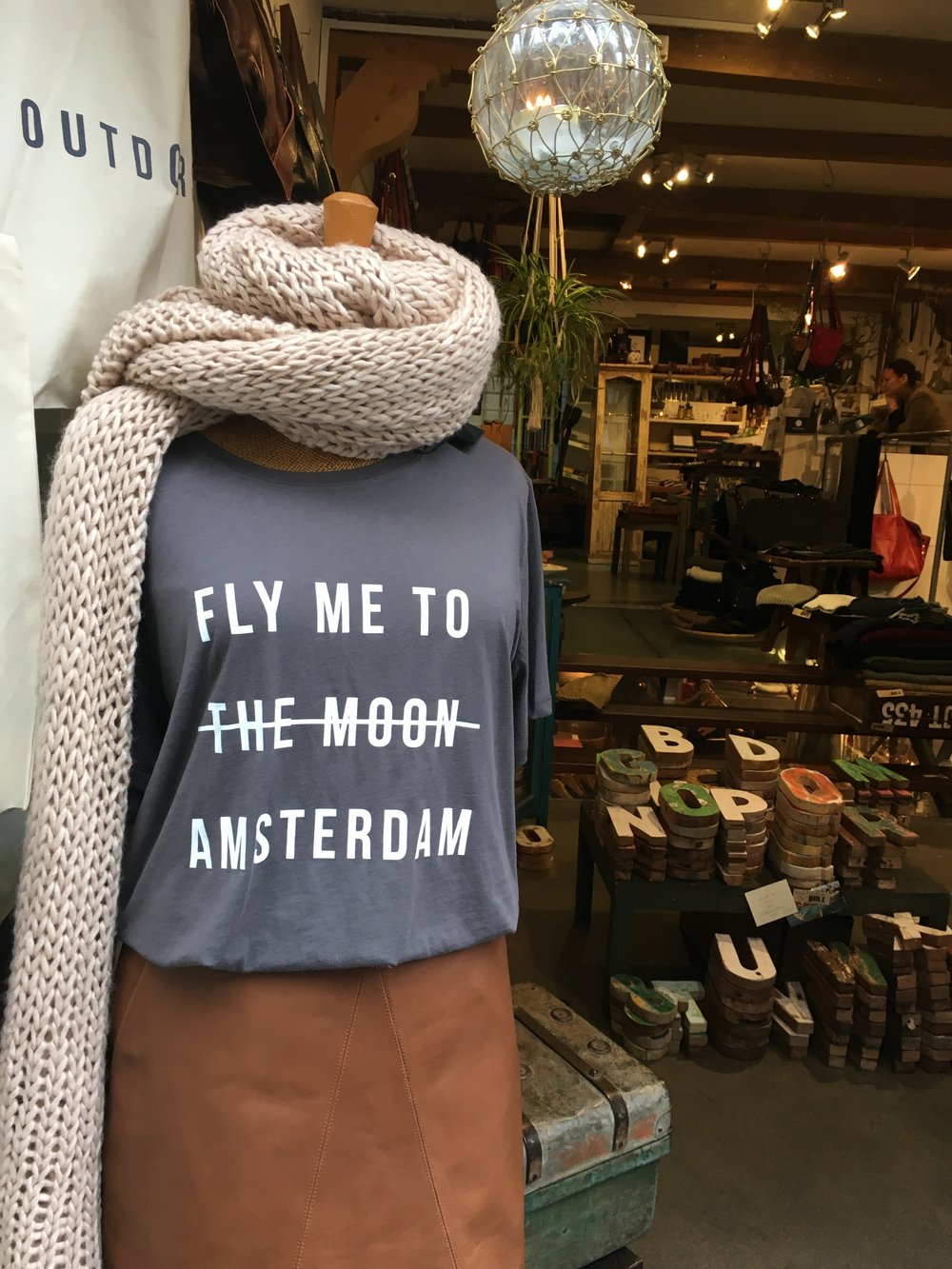 ~See you next time Amsterdam! (I should have bought this shirt...)