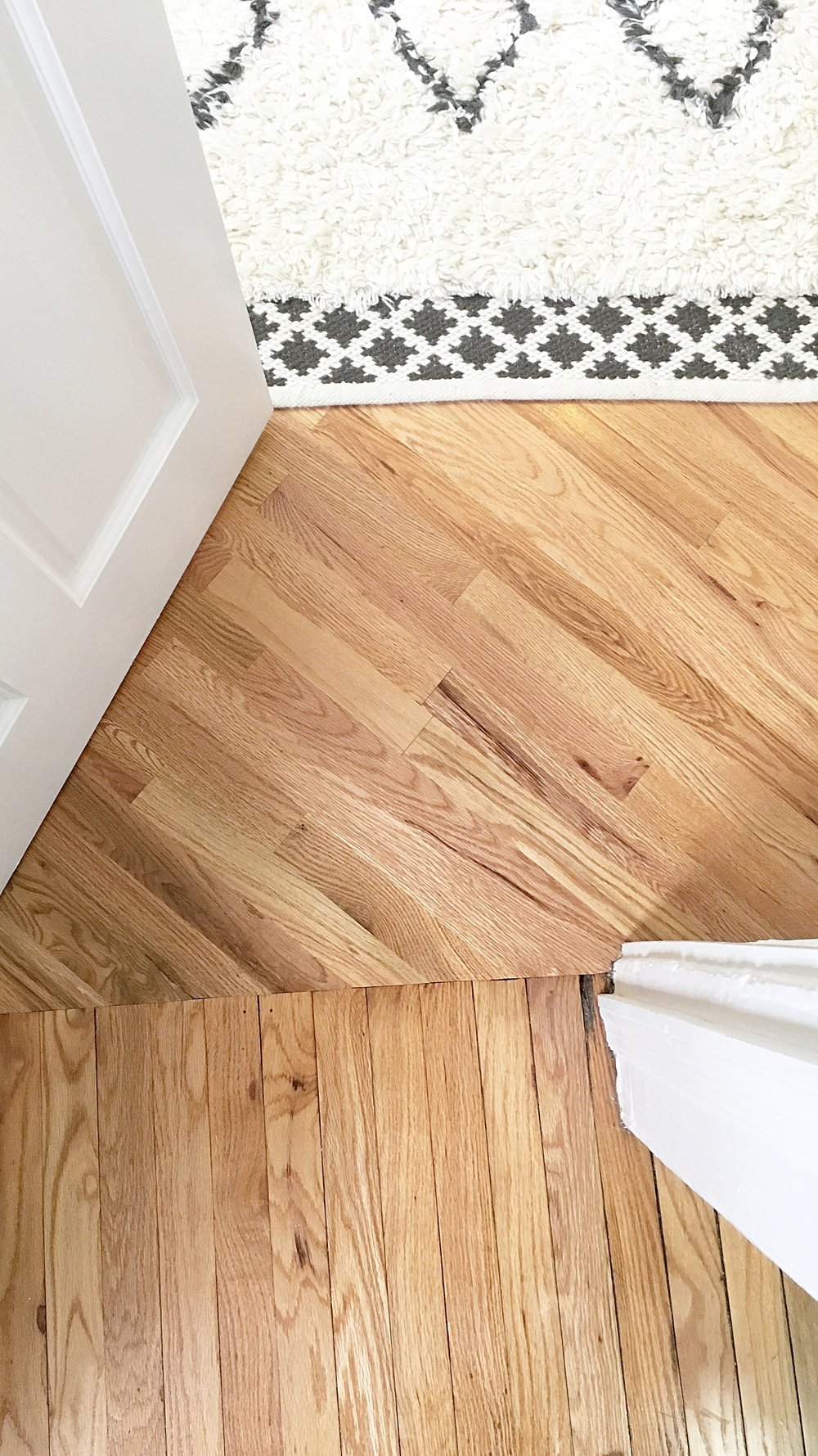 I still love the floors in our wonky Brooklyn apartment