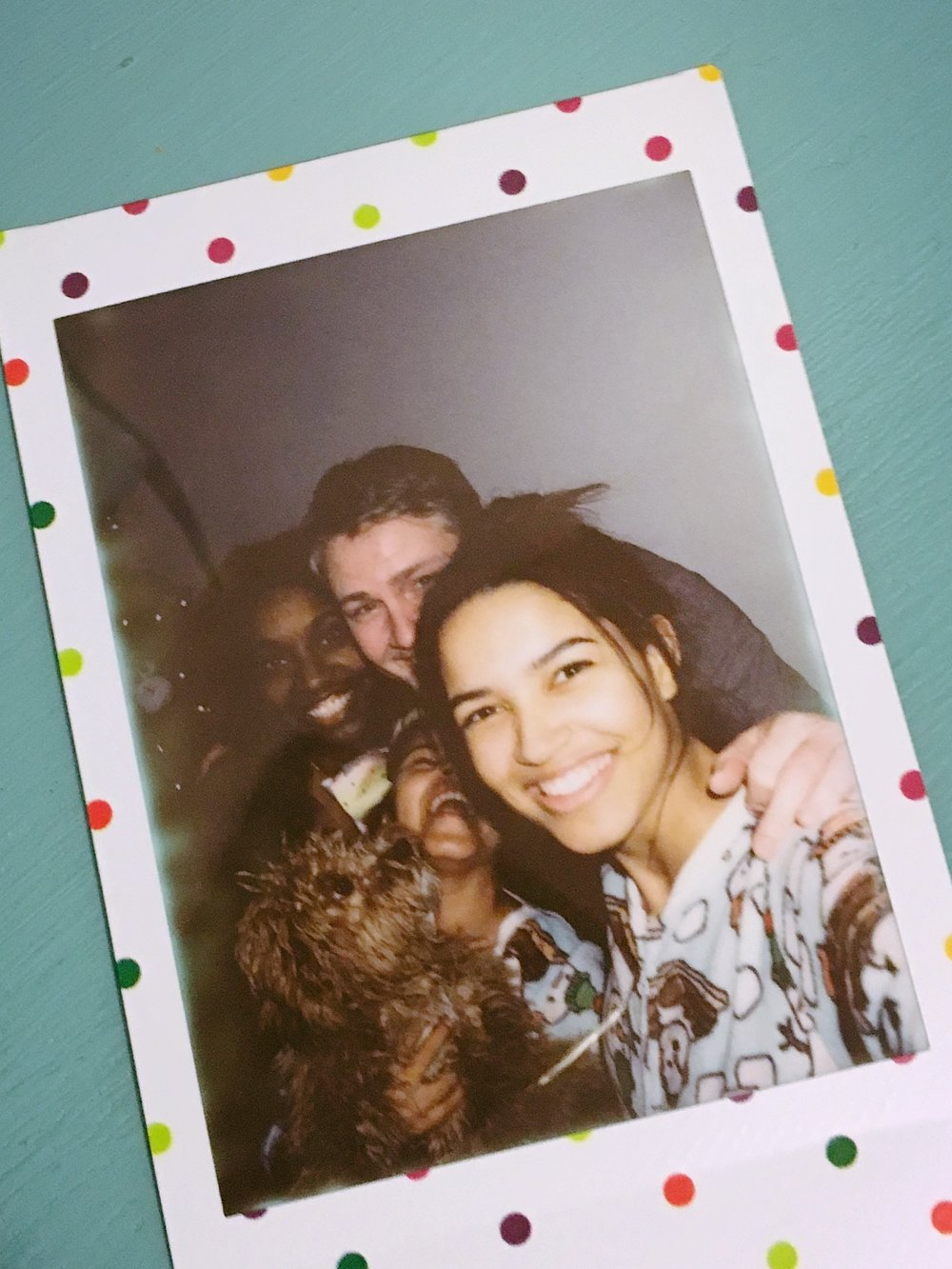 New Years Eve 2017 - NYC +++ It may be blurry and over exposed, but this polaroid is the one I love most - a moment of us, just as it was.