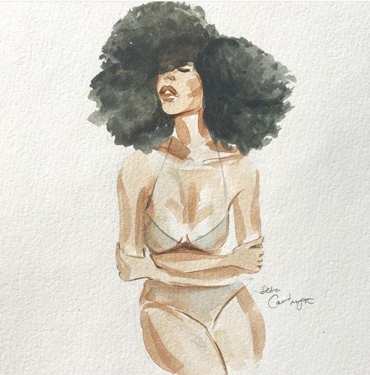 Beautiful art made by    Debra Cartwright    ++ I love her work, specially her water coloured ladies.