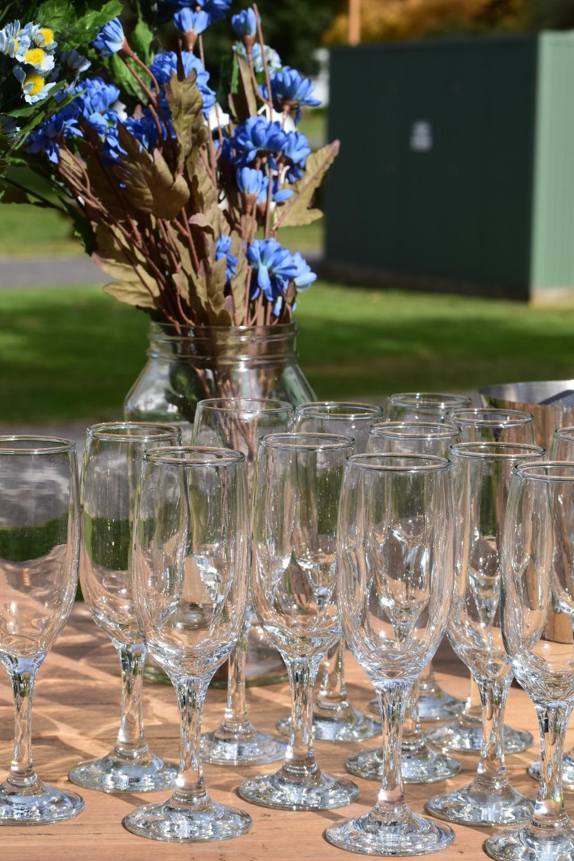 Champagne Flutes 70c