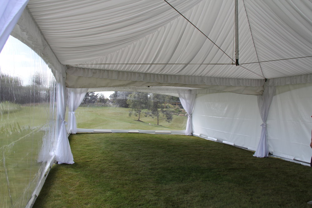 Silk Lining in Spring Top Marquee