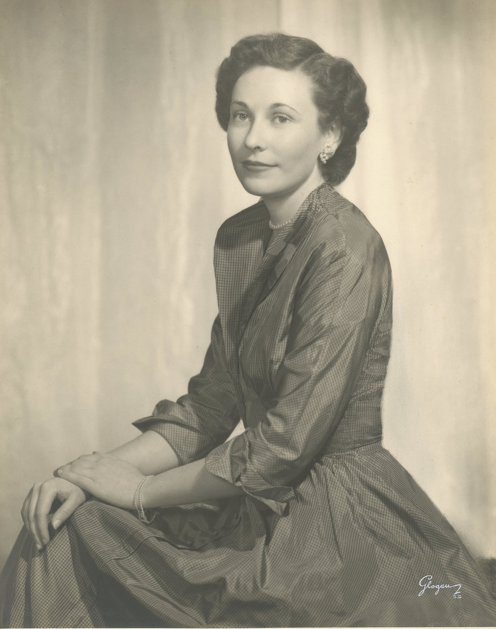 Photo taken in 1950, provided by Virginia Rhine Stein.