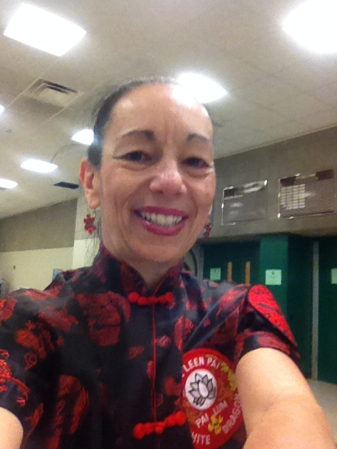 Sharon at World Martial Arts Federation Karate Kung Fu Tournament - 1st Place Advanced Weapons.jpg