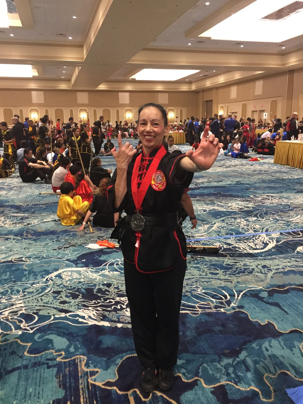 Silver medal advanced women's empty hand - ICMAC Orlando 6.30.18. An honor to perform in the evening Masters Demonstration as well with so many incredible martial artists! -