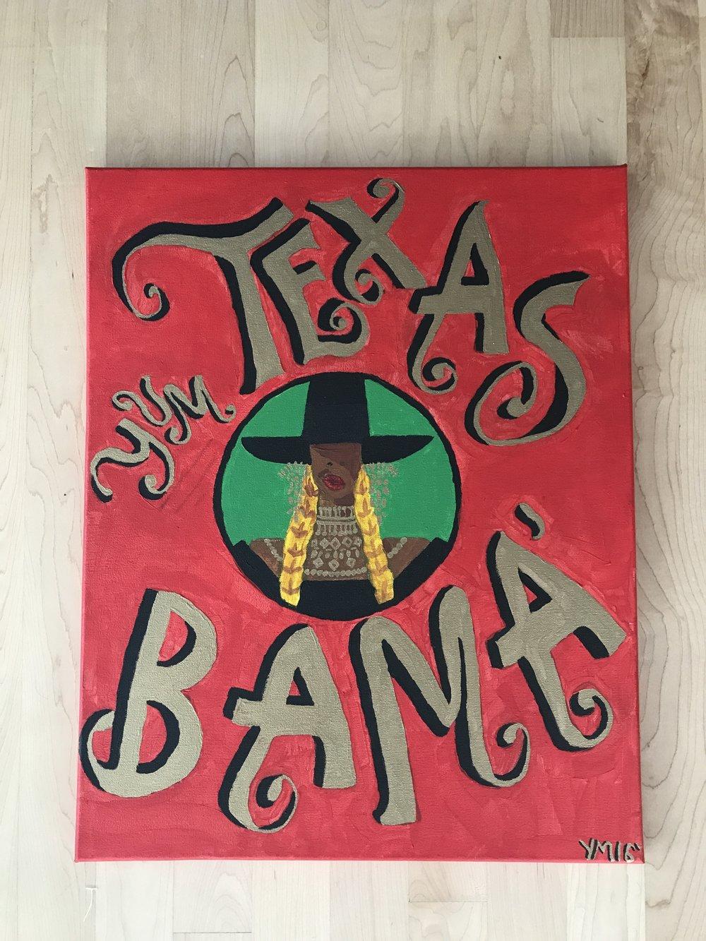 Texas 'Bama 1/1