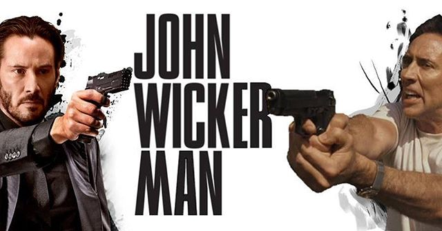 Episode 24: John Wicker Man. One of these is possibly the best action movies in recent memory and the other has Nic Cage being attacked by Bees. #JohnWick #keanureeves #nicolascage #action #thebees