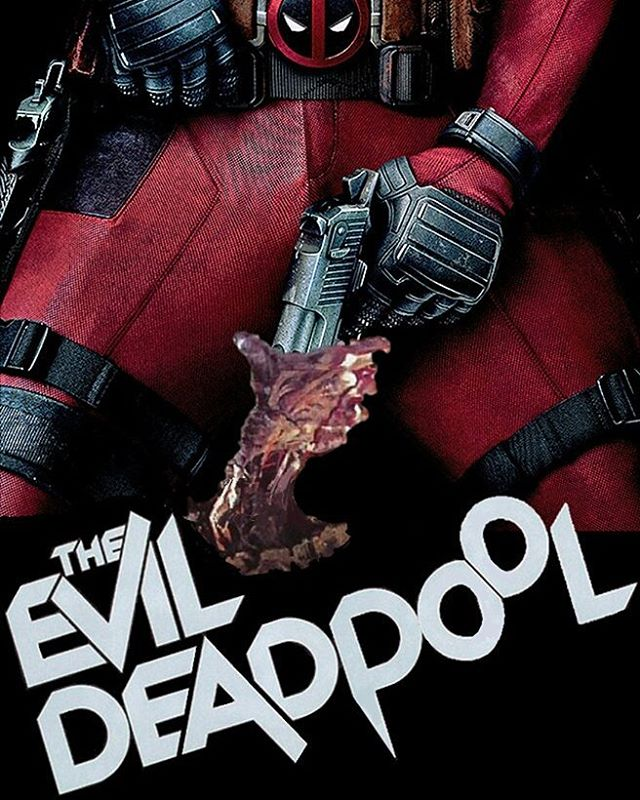 Episode 26: The Evil Deadpool. With special guests/buddies @shaken_not_nerd_pod. We talk Ash, Mr Pool, and a lot of garbage #EvilDead #deadpool #ryanreynolds #brucecampbell #pod #buddies