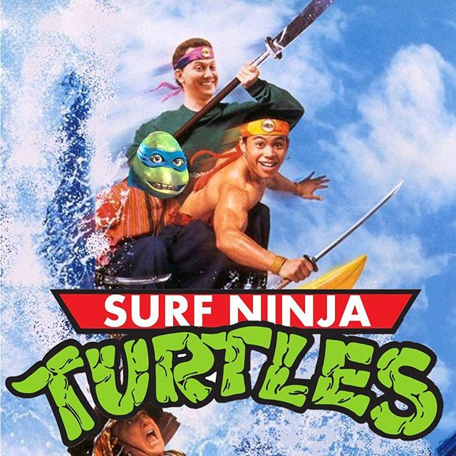 #Kwantsu Dudes!  Ep 56: Surf Ninja Turtles - With Wes from @viavhs is out now. An absolute cracker for fans of the 90s and #Ninjas... and possibly #turtles #tmnt #PodFix