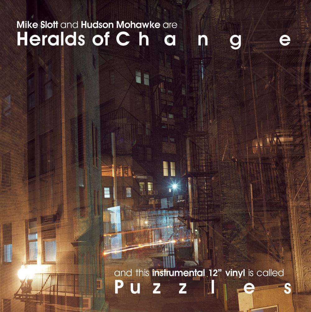 Heralds of Change (HudMo x Mike Slott) - Puzzles EP
