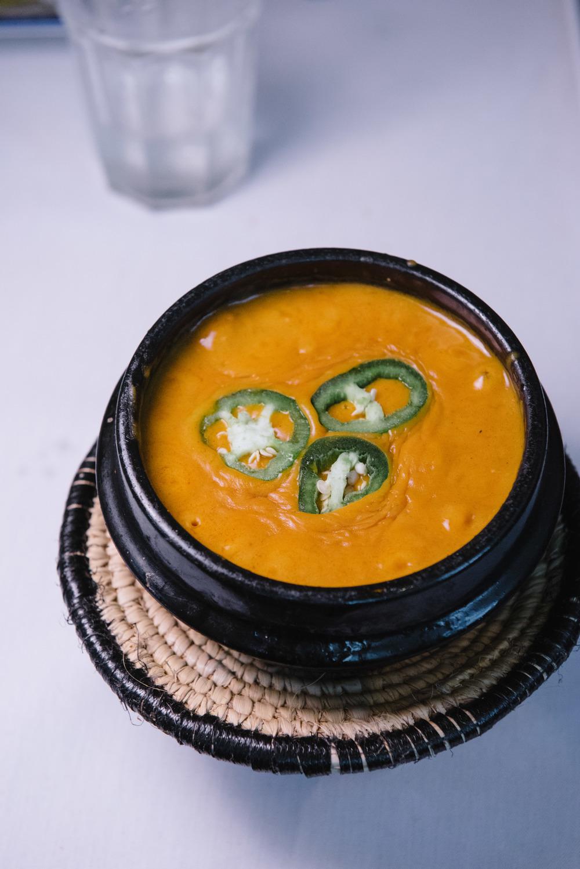 Shimbera Assa Wot (Chickpea Soup)