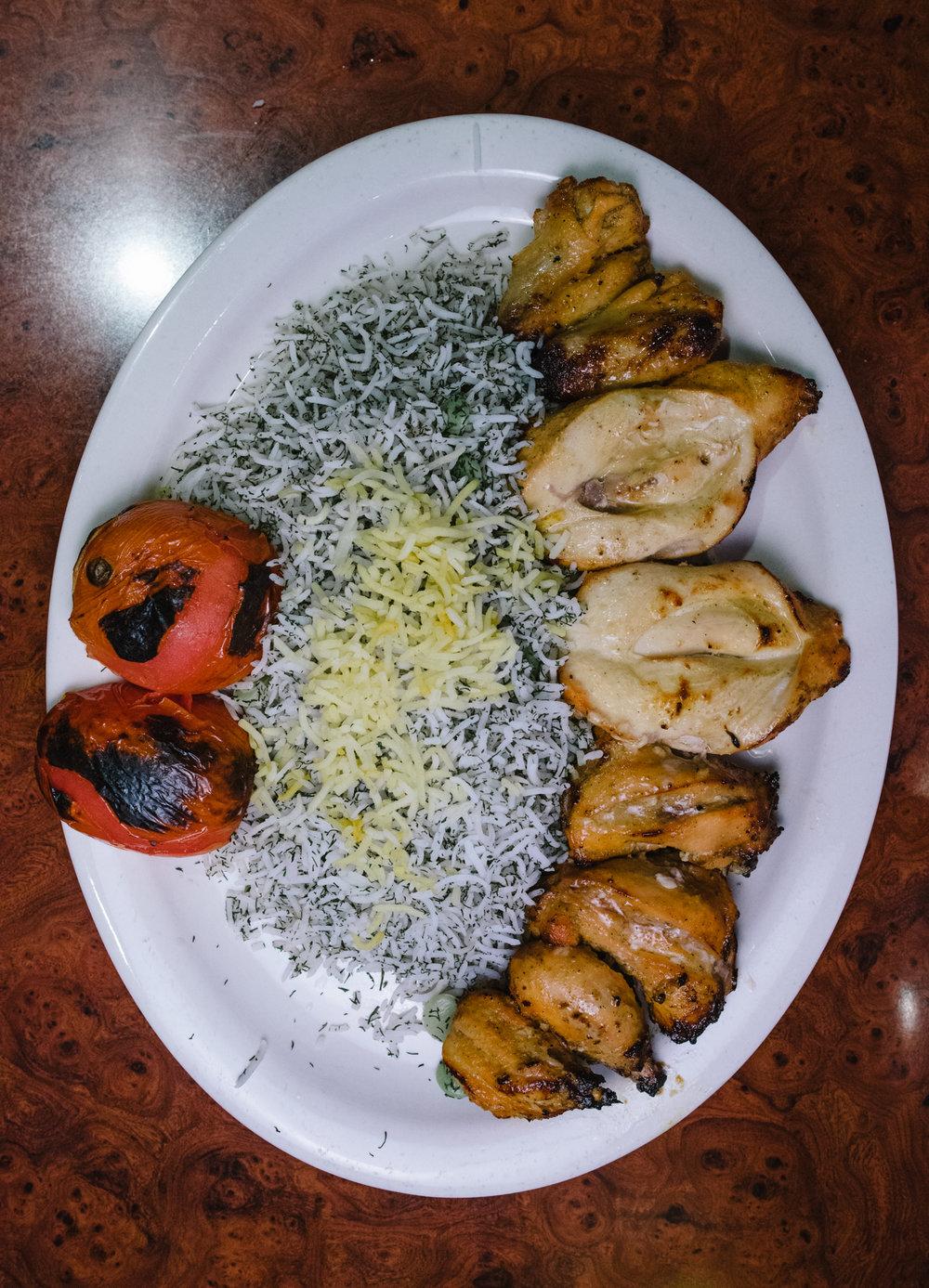 Jujeh Kebab