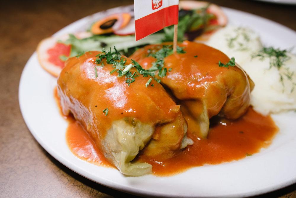 Golabski (cabbage rolls)