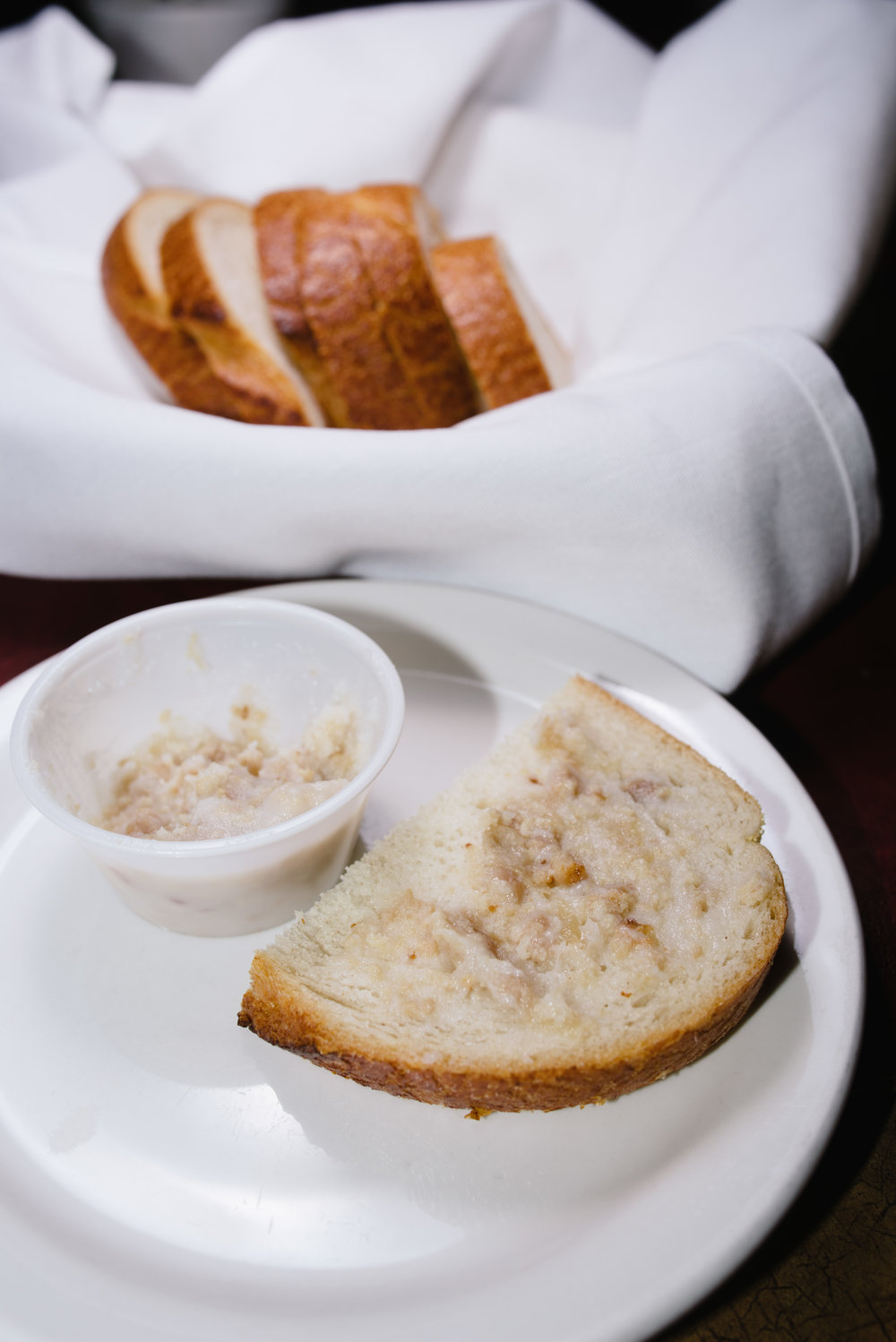 "Smalec, this lard based spread is an ingenious and flavorful application of ""waste not, want not"""