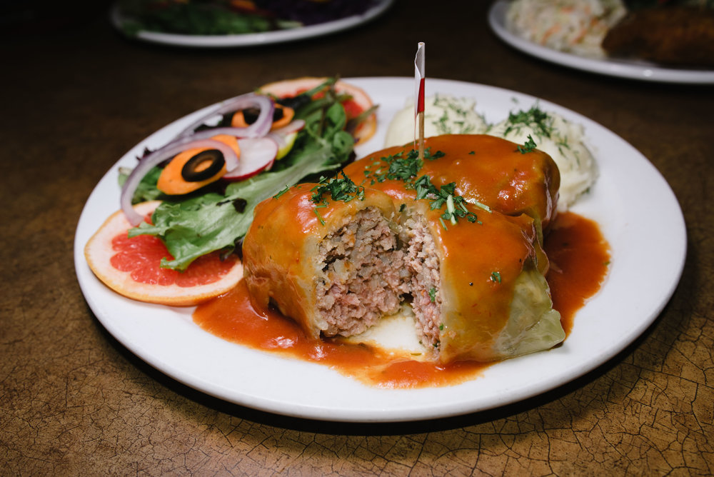 Golabski, stuffed cabbage