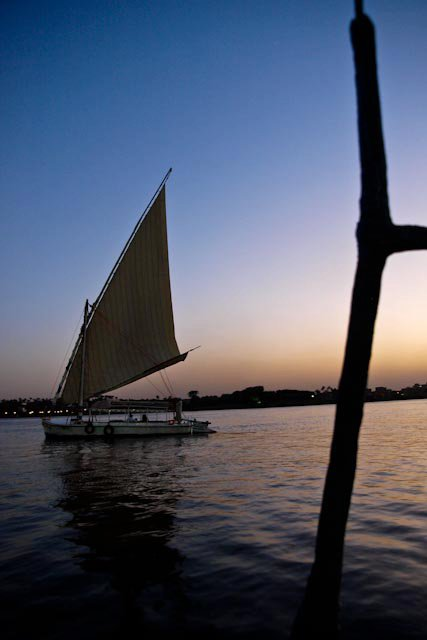A Feluka on the Nile