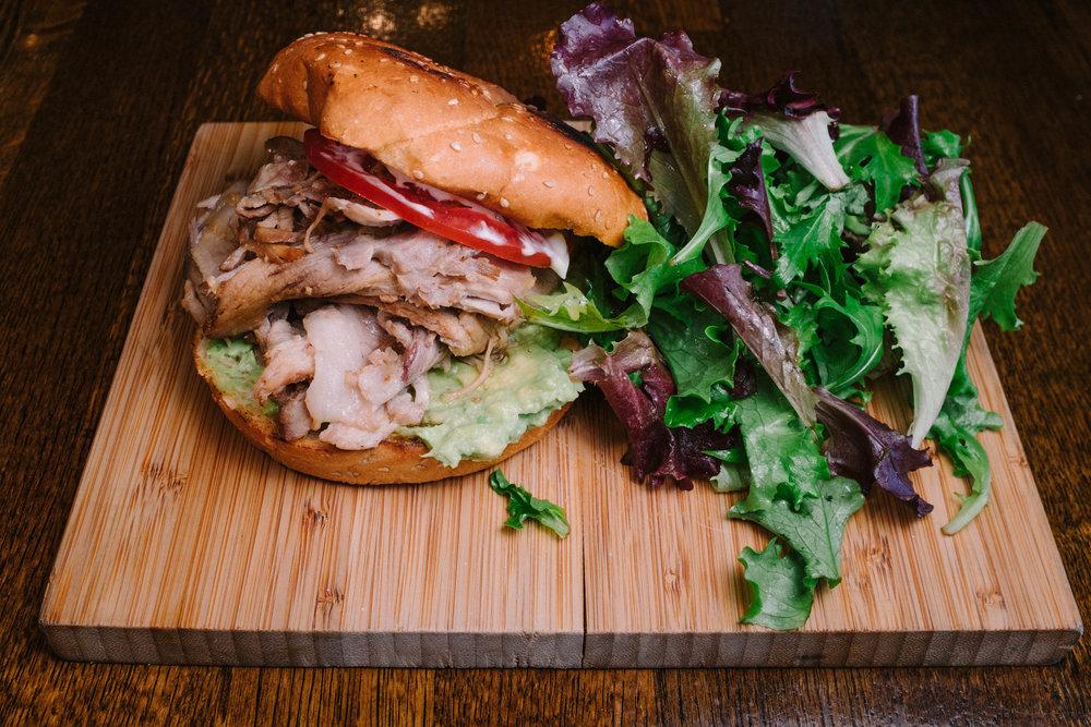 Lomiton (Pork Sandwich)