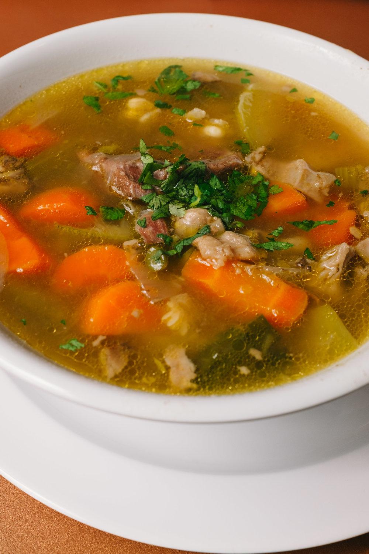 Sopa De Res (beef stew)