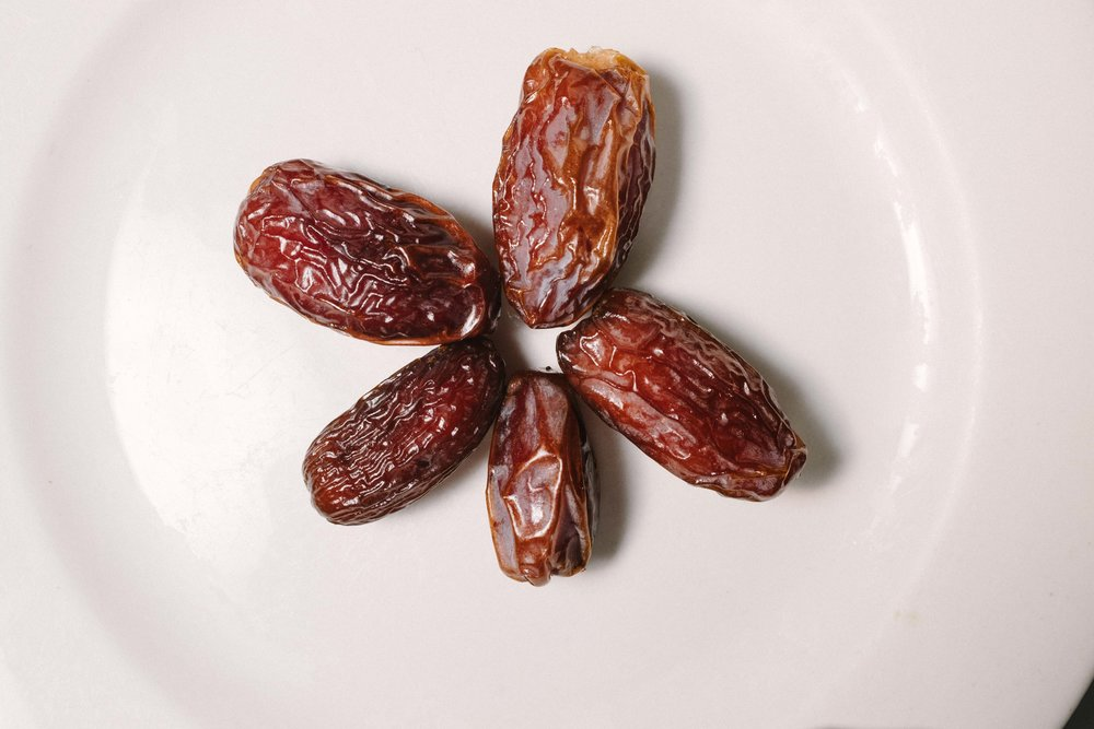 The traditional way to break fast is dates and milk.