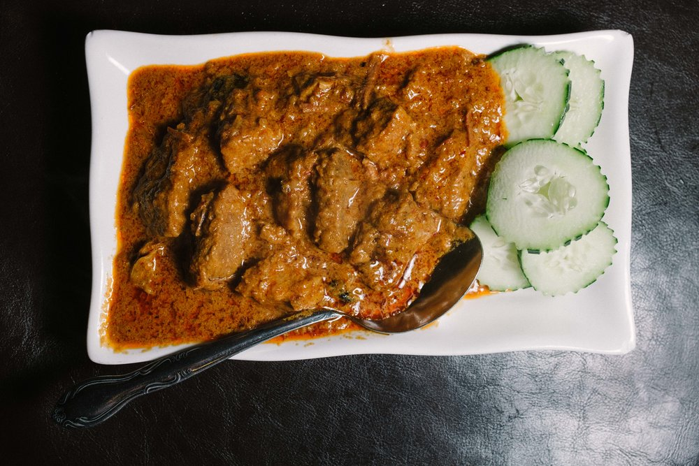Malaysian Rendang has a lighter and sweeter flavor than its Indonesian counterpart.