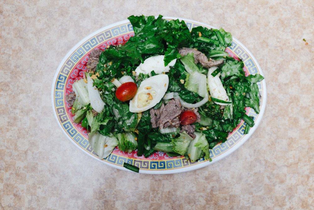 Yum Salad: Beef Salad