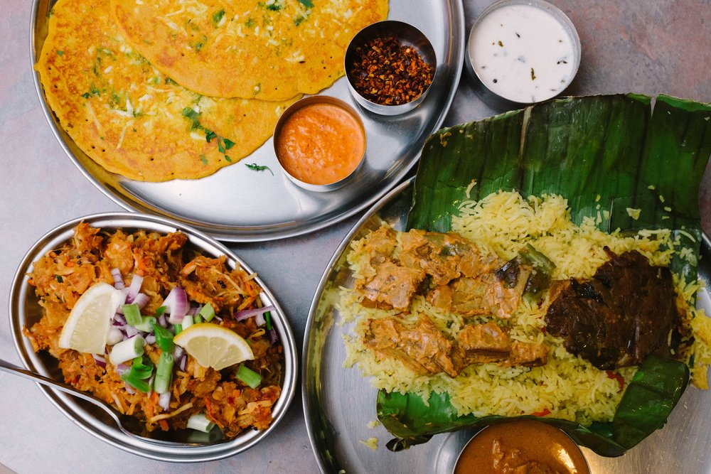 Yaal Tiffins provides an authentic Sri Lankan food experience that is delicious and colorful.