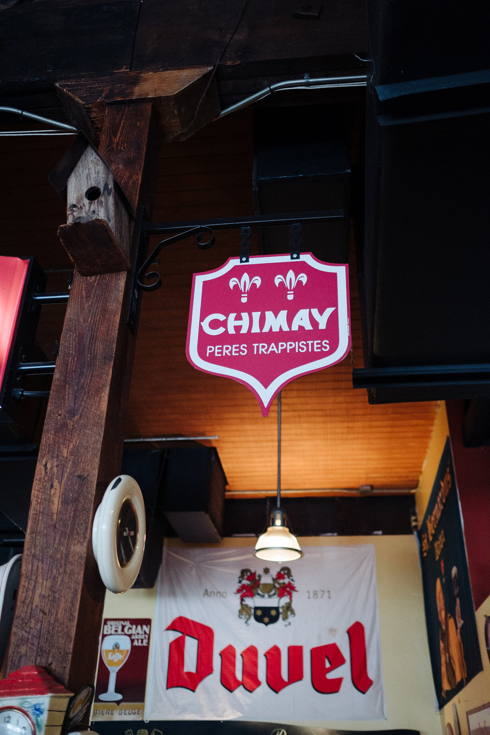 I am not sure what those Trapist monks do to make Chimay one of my favorites, but keep up the Lord's work.