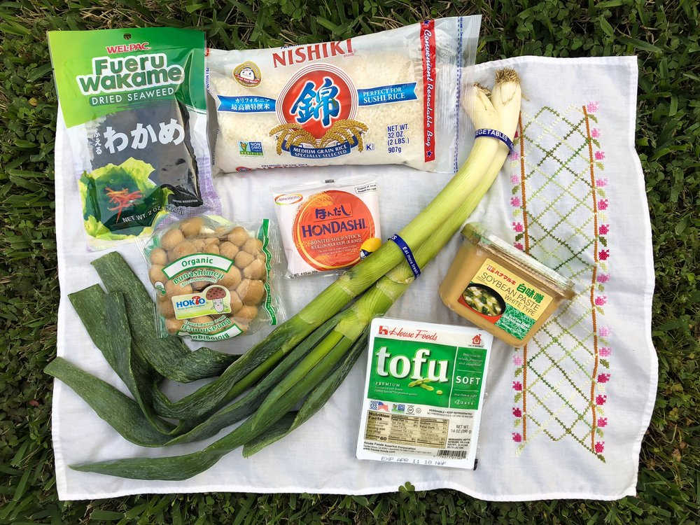 Ingredients for Miso from Seiwa!