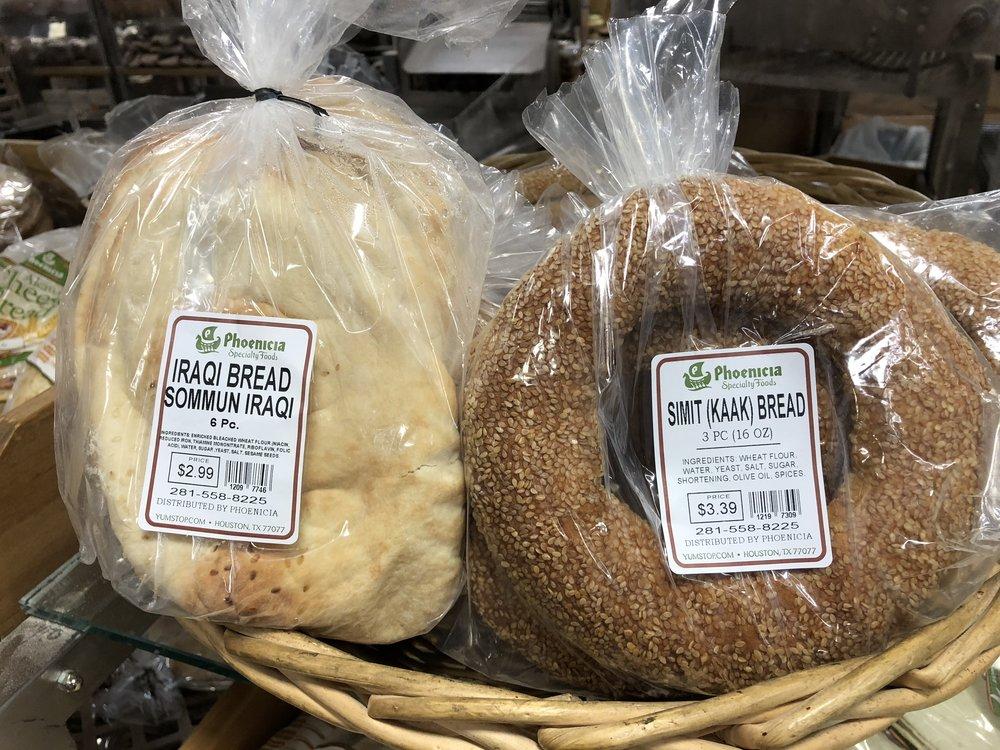 Iraqi and Turkish Breads