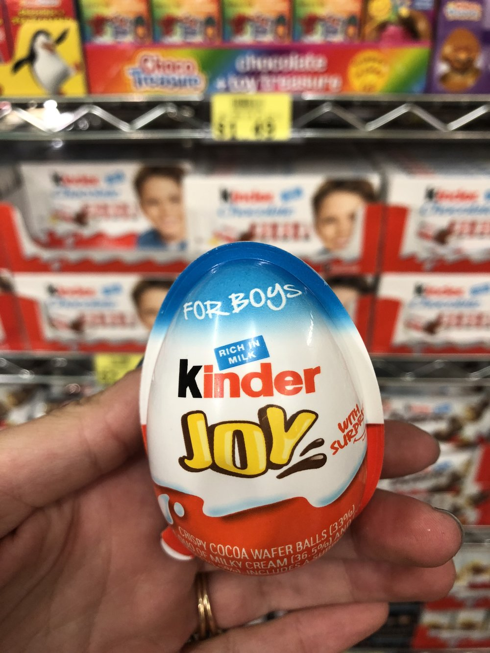 A popular European chocolate for kids