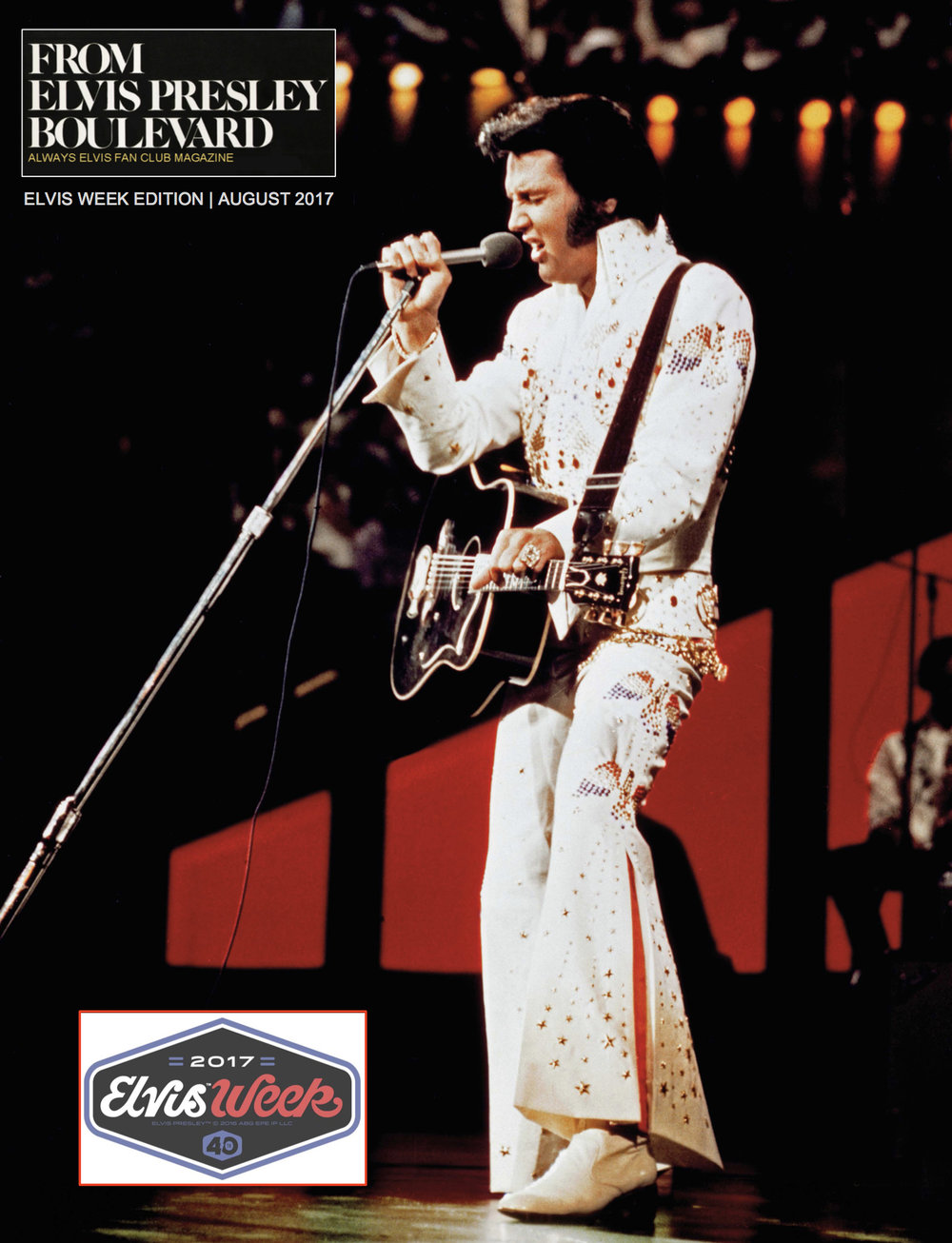 From Elvis Presley Boulevard online magazine features full color high resolution photos of Elvis throughout his career.  Click to enlarge.