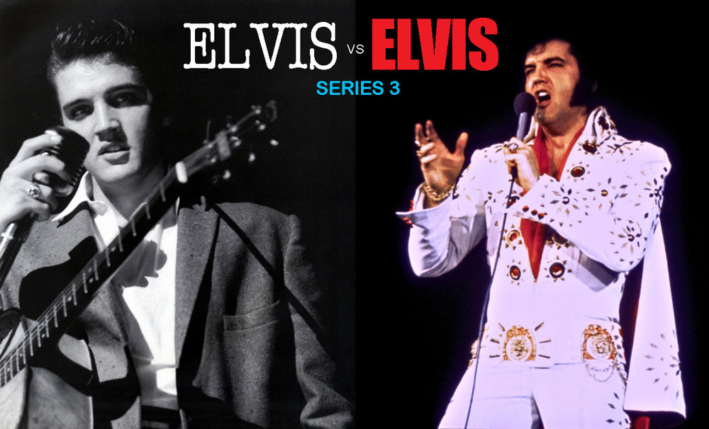 "Elvis vs Elvis: A new web series with three series now available in the Always Elvis ""Showroom"" section of the website."