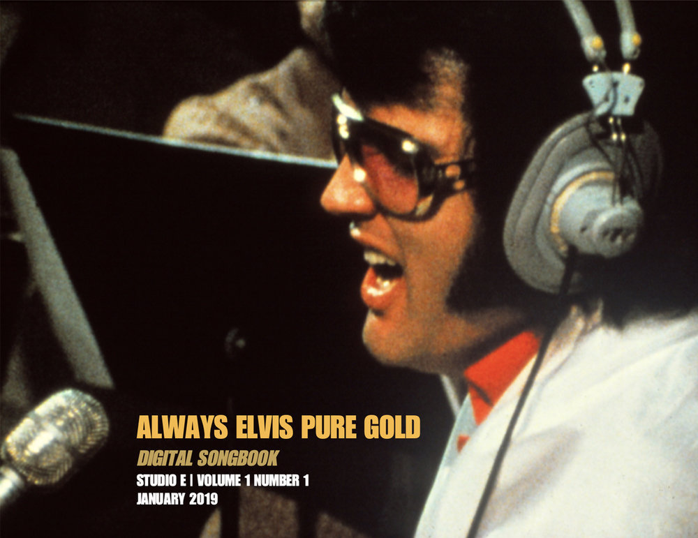 Cover of Always Elvis Pure Gold 'Digital Songbook' available January 8, 2019.
