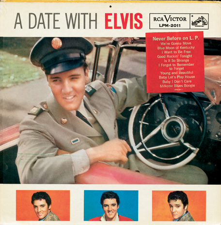 STUDIO E BONUS: 'A DATE WITH ELVIS'   Home recordings featured on the FTD 'A Date With Elvis'
