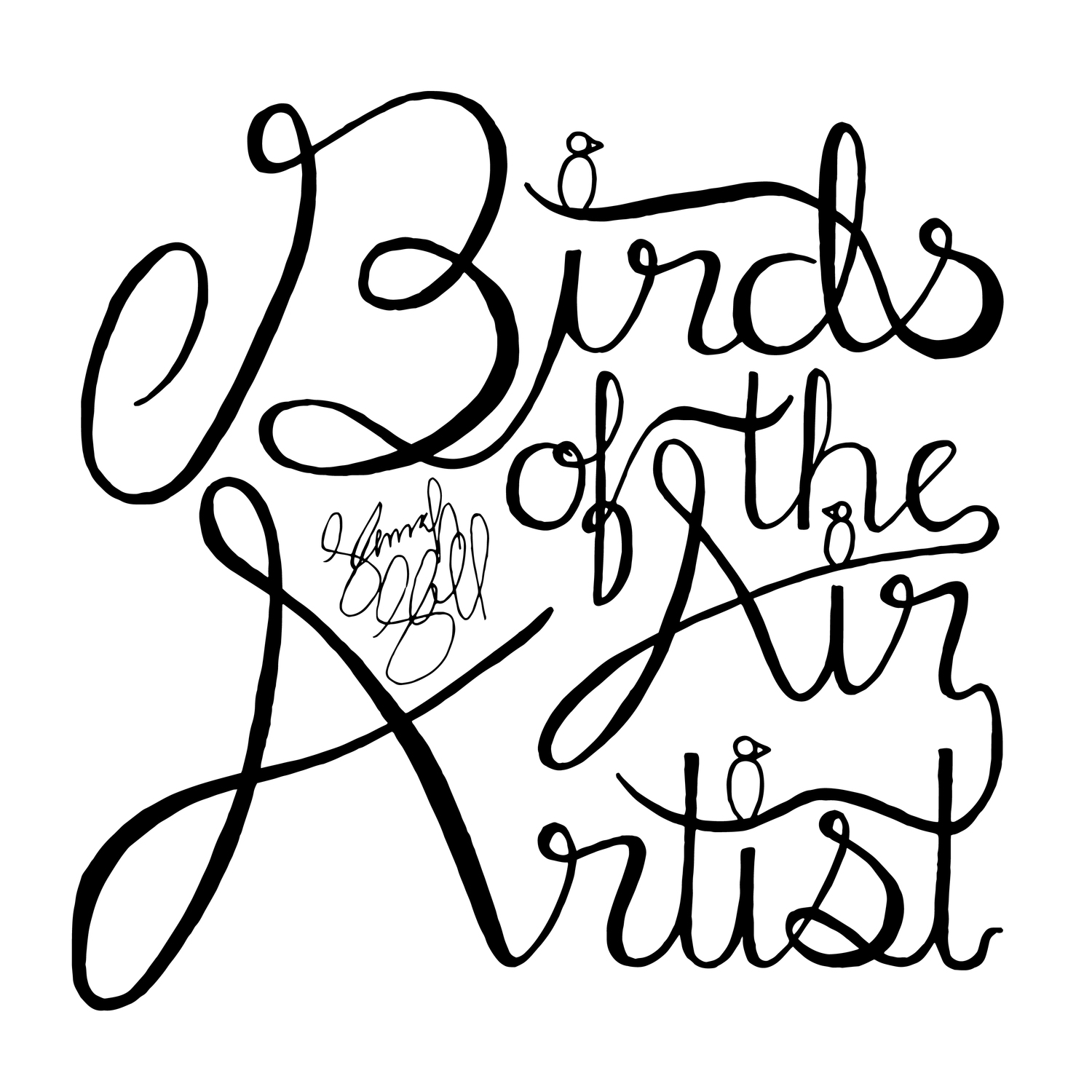 Birds of the Air Artist