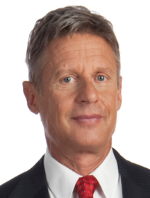 Gary Johnson Marijuana