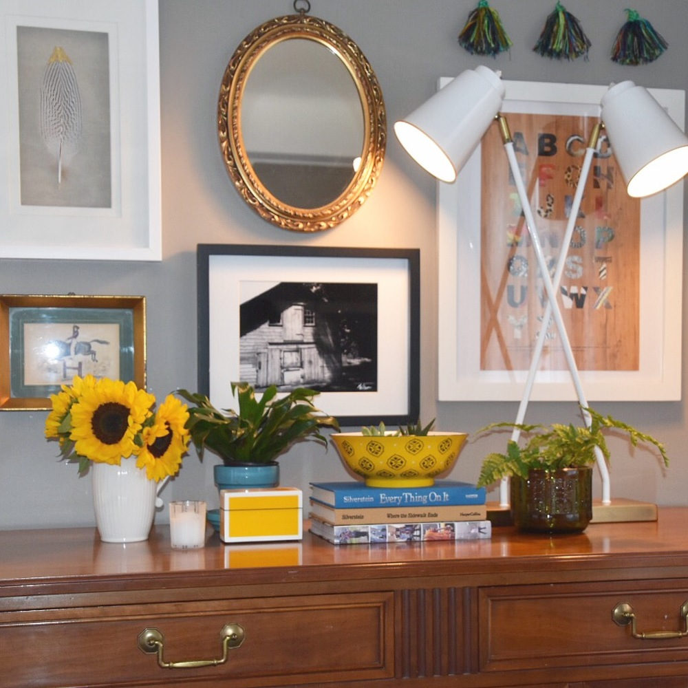 A Mix of Subjects and Materials, With Coordinating Frame Styles, Completes My Quick Gallery Wall